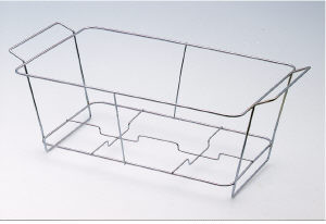 Wire chafer frame, fits full foil pans