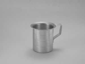 Measuring Cup, 1 qt, aluminum