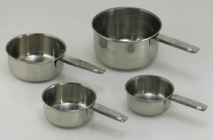 S/S Measuring cup set