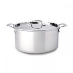 8 qt Stock Pot w/ lid Stainless