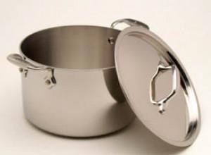 3 qt S/S casserole w/ Lid
