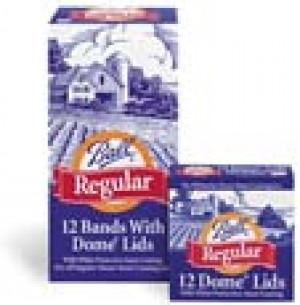 Regular lids w/ Rings, 12 ea per pack