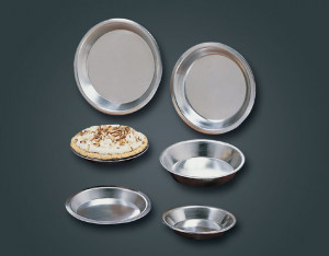 "Deep Dish Pie Pan, 10"", Aluminum"