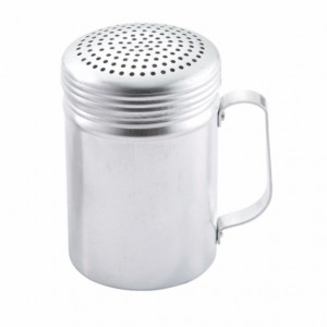 Dredge, Shaker, 10 oz, Aluminum, w/ handle