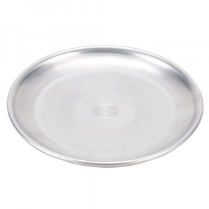 Pizza Pan,Coupe Style solid, 18 gauge aluminum