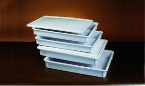 Dough retarding box, 18x26x3, White ABS