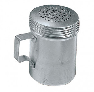 Dredge, Shaker, 10 oz, Aluminum, w/o handle