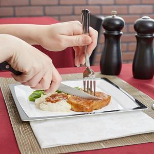 """Steak knife, 5"""" S/S blade Pointed Tip1dz/box"""
