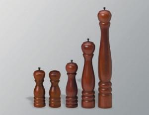 "Pepper or salt mill, 8"", Wood"