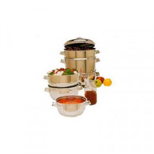 9 qt S/S 6 piece juicer set