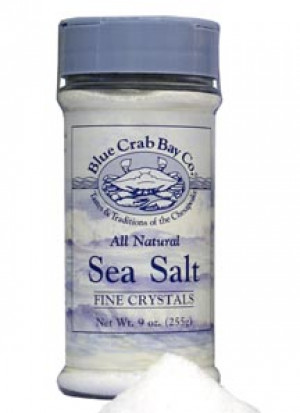 Fine sea salt, 9 oz