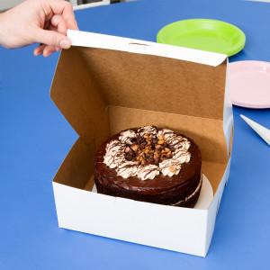 10X10X4 Cake Box, 100/case