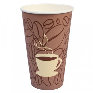 Hot Cup- 20 oz, Stock Design, 20pk/25