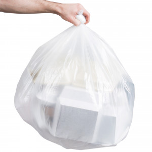 33x39 Heavy duty trash bag, 33 gal, 150/cs