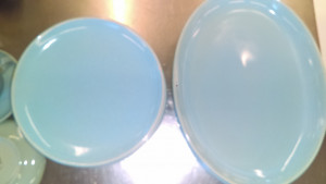 """Russell Wright Ice Blue 9"""" Dinner Plate"""