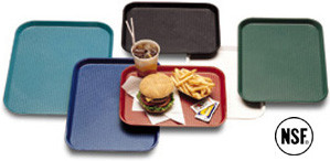 12x16 Cafeteria fast food tray, Orange