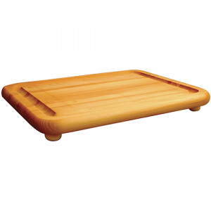 Cutting board w/ groove 19x15x1.25