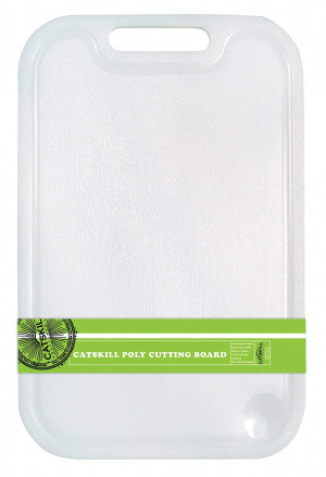 Cutting board, w/ Groove 14.75x10, Plastic poly