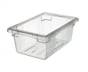 18x26x6 food storage box, poly clear