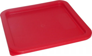 6 & 8 qt Square cover, Red