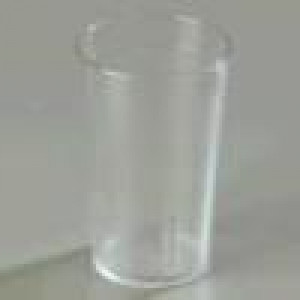 Tumbler, 9.5 oz., Stackable, Clear