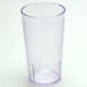 Tumbler, Stackable, 12 oz Crystal Clear