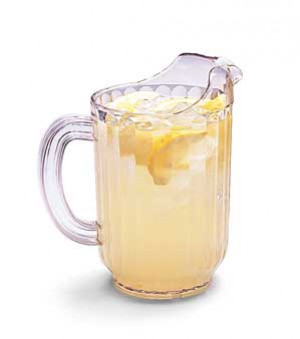 Pitcher, 48 oz, Clear