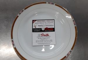 """Noritake Chanossa 9.75"""" Dinner Plate"""