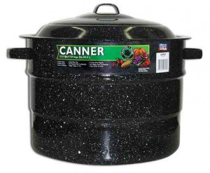 Canner, 21.5 qt, Black Canning pot