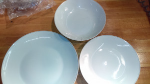 """Gold Accord 9.75"""" Dinner Plate"""