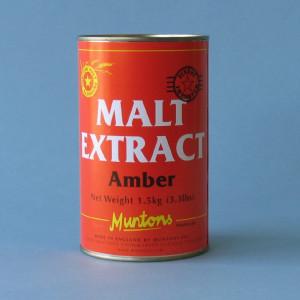 Munton's Plain Amber Malt Extract, 3.3 lbs