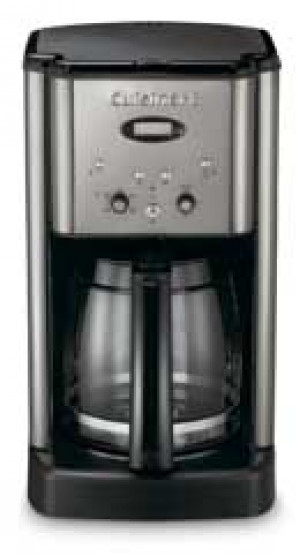12 cup Deluxe coffee maker, Black & Stainless