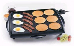 "Presto Big Griddle 23"" Tilt N' Drain"