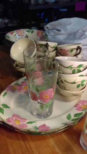 Dessert Rose Cup & Saucer