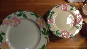 "Desert Rose 7.75"" Lunch Plate"