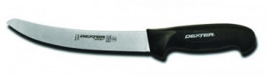 "8"" Breaking Knife, black sofgrip handle"