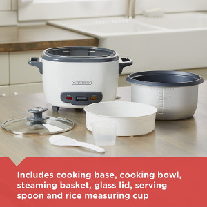 Rice Cooker & Steamer, 16 cup