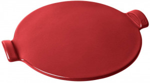 Pizza Baking Stone, flame red
