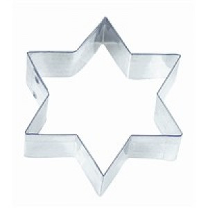 6 Point Star Cookie Cutter