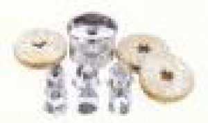 Linzer Cookie cutter set, 6 changeable shapes