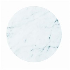 "12"" Marble lazy susan"
