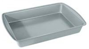 "Roasting baking pan 9"" x 13"", non-stick"