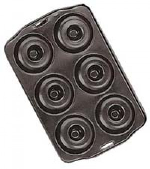 Donut pan, 6 molds