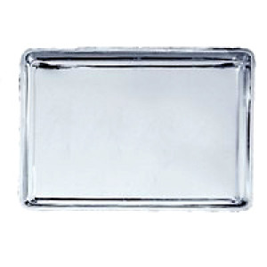"Jelly roll pan, S/S, 10""x15"" Cookie sheet"