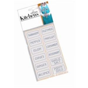 Spice labels, Self adhesive