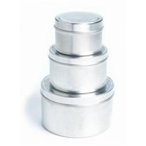8 oz Metal spice tin