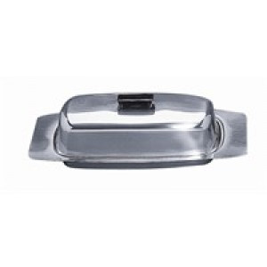 Covered Butter dish, S/S