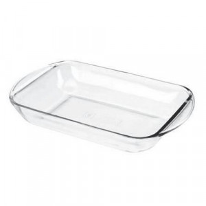 Glass oblong bake dish 4 quart
