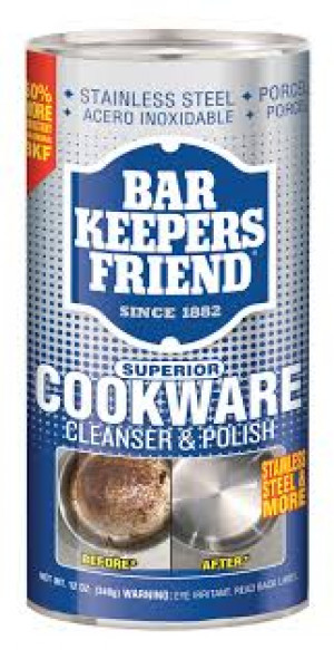 Bar Keeper's Friend Cookware Cleaner, 12 oz