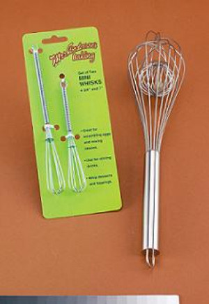 Mini whisks, set of 2